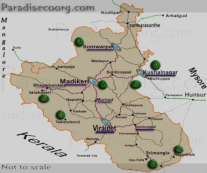 places to visit coorg