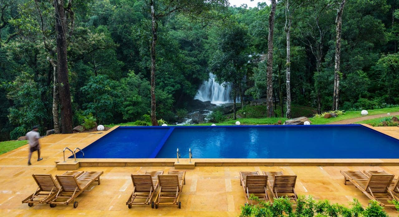 Best Coorg Resort with Swimming Pool &  Waterfalls