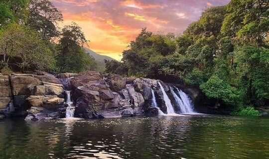 Kotte Abbey Falls (A Secret Falls)-Madikeri